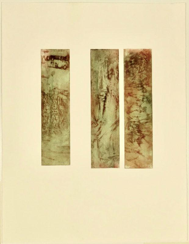 Sans titre - eau forte - Marie Claude Gardel - L'Alice Edition
